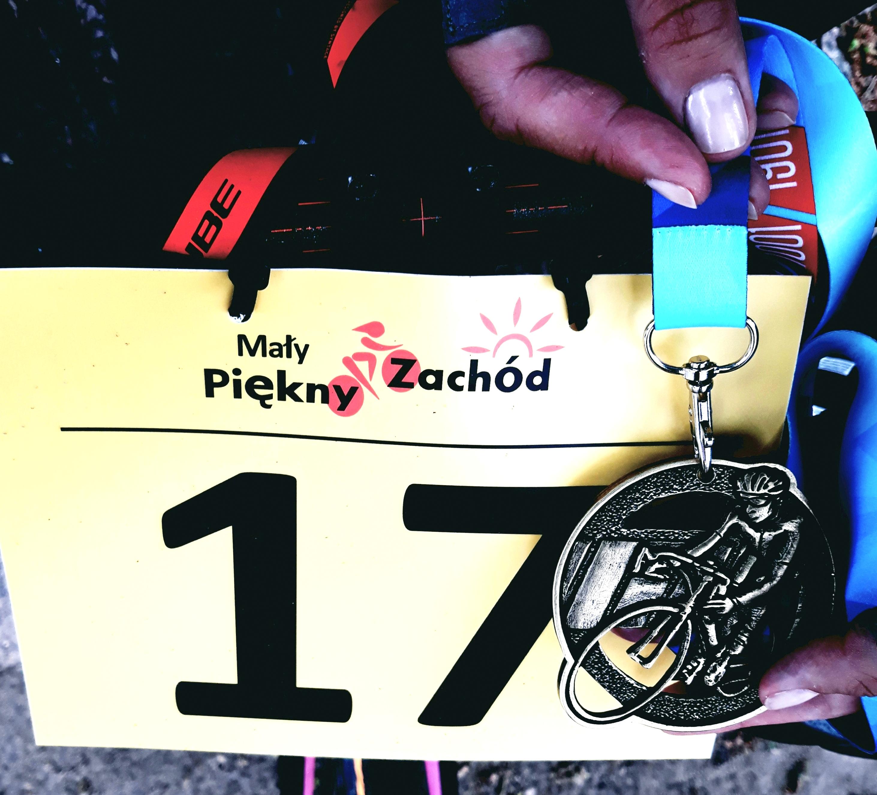 Medal wyścigu Mały Piękny Zachód