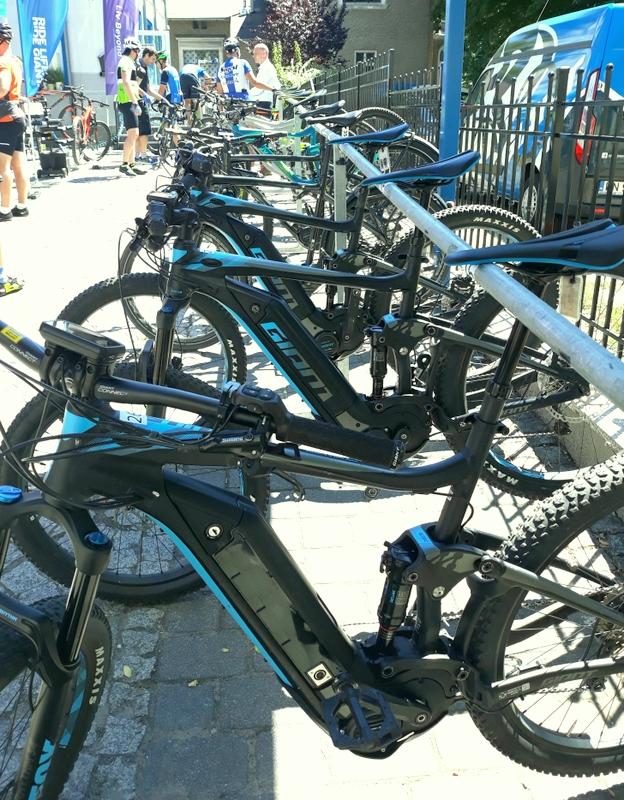 Test rowerów w Sogest Rowery