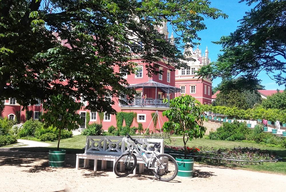 Park Mużakowski rowerem