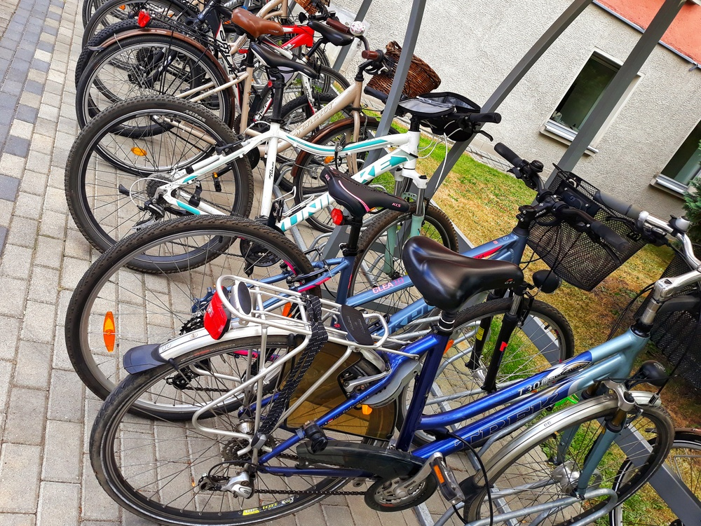 Zalety jazdy rowerem do pracy