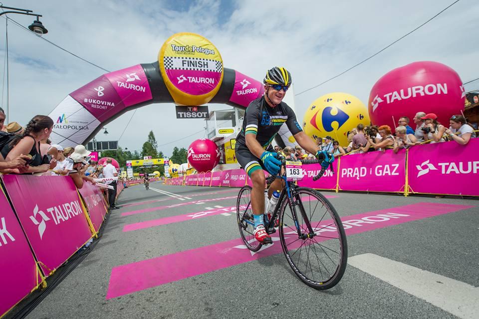 Tour de Pologne Amatorów - Jacek Moszyński/Zielona Góra