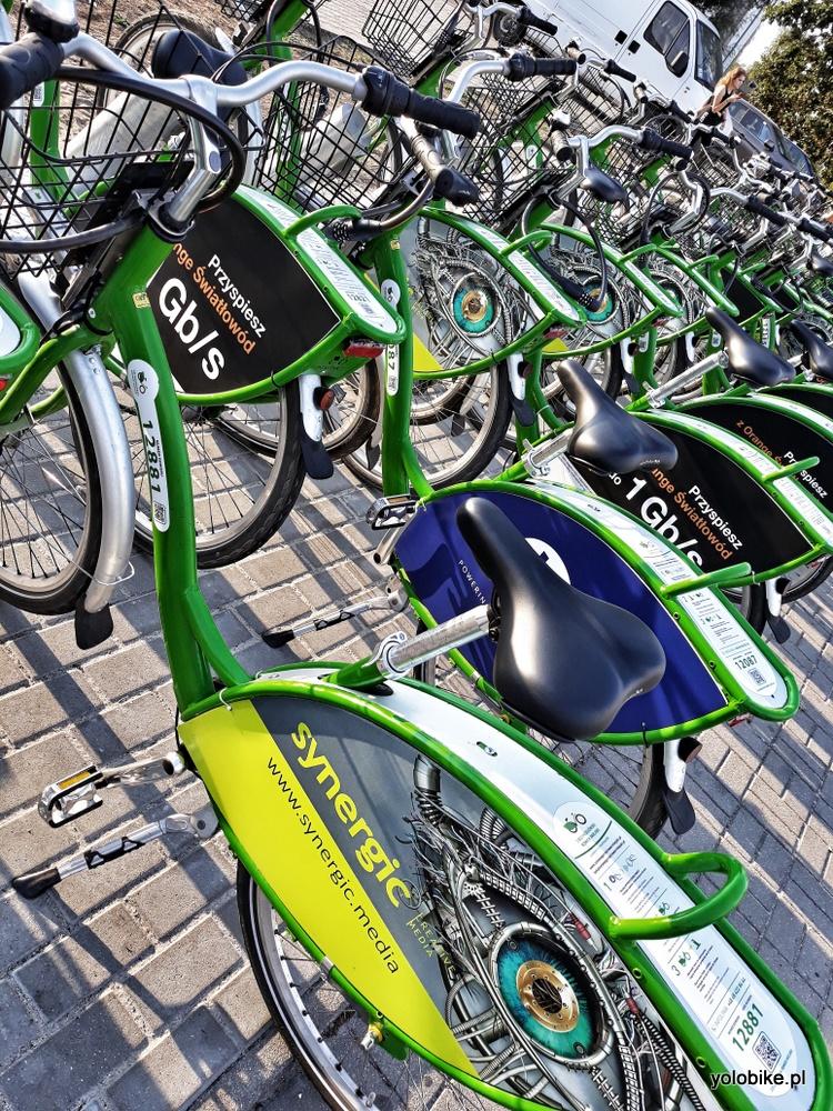 Rower miejski to hit w Zielonej Górze