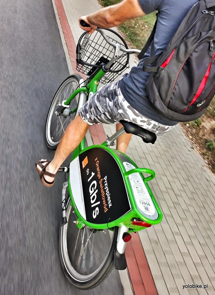 Jazda rowerem miejskim