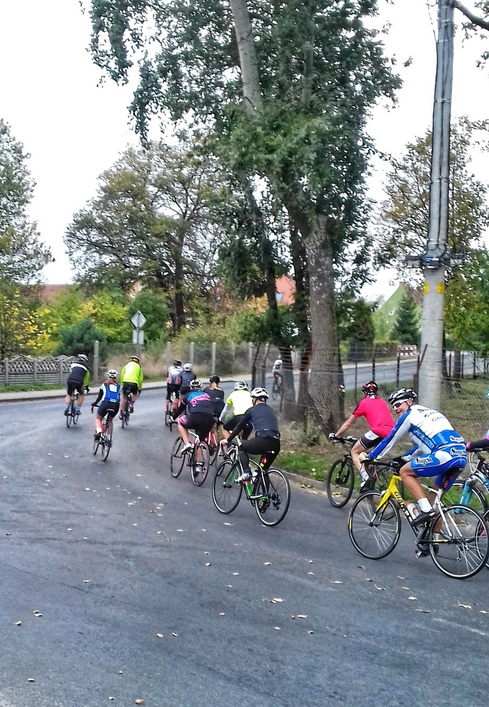 100 km rowerem szosowym