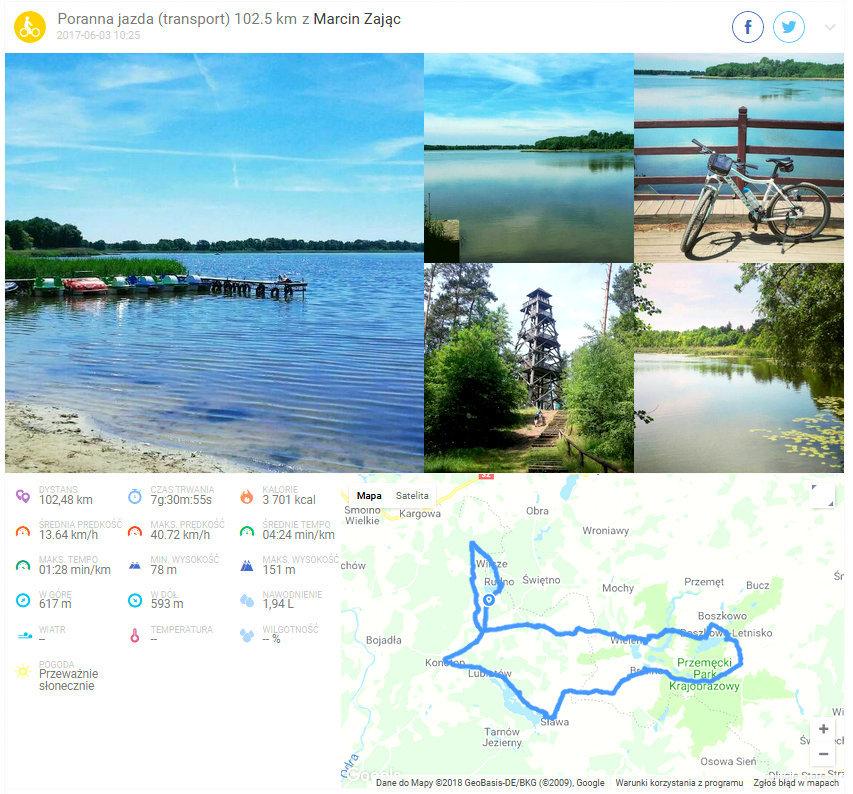 Jak przejechac 100 km na rowerze?
