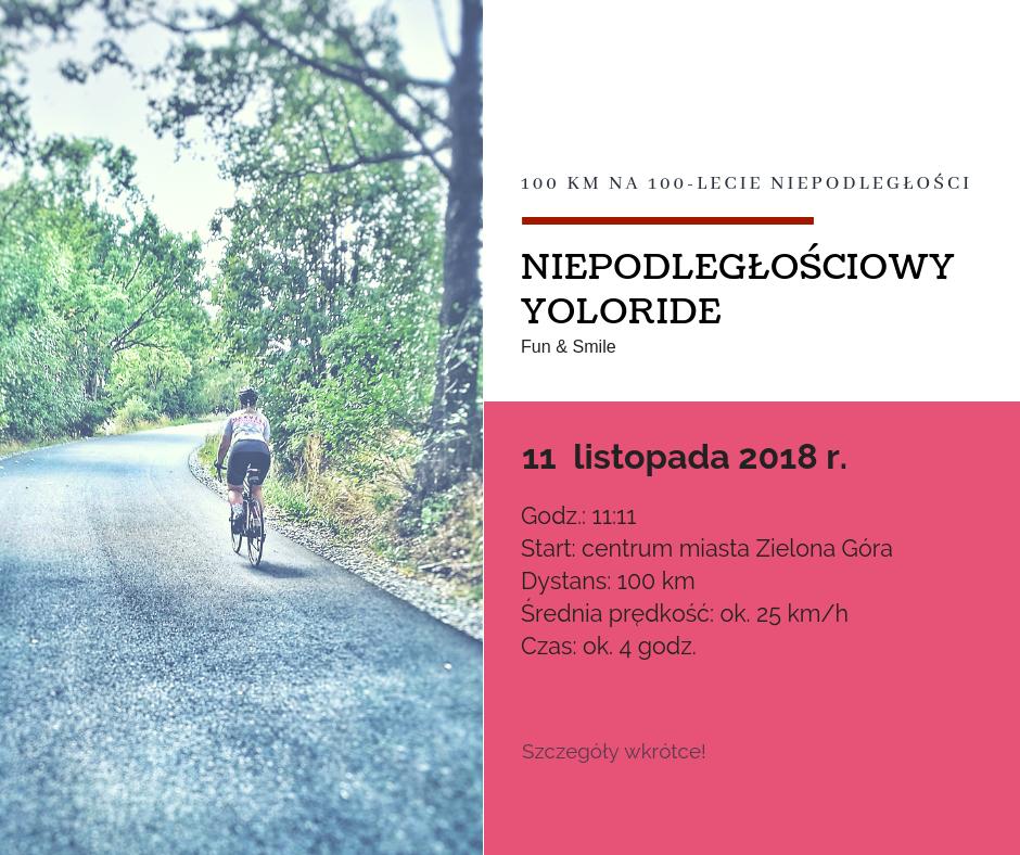 Dzień niepodległości na rowerze.