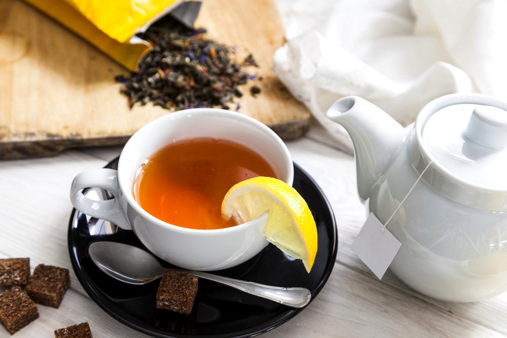grypa herbata z miodem