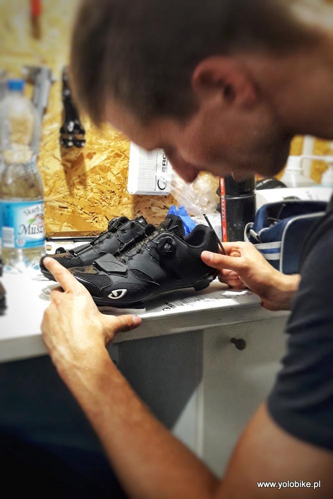 Bike fitting ustawienie butów