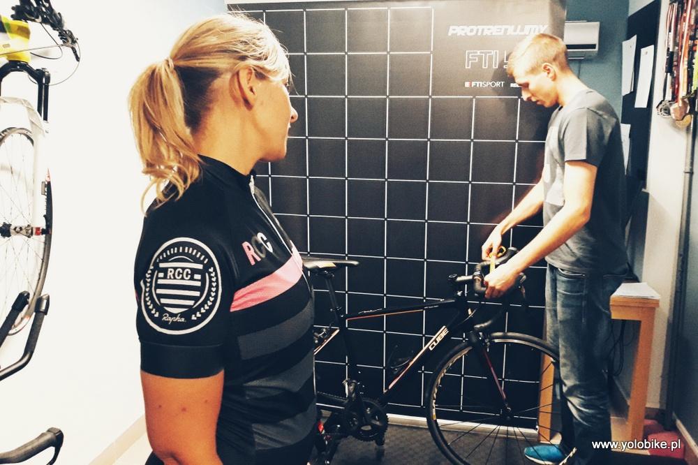 Bike fitting kierownica