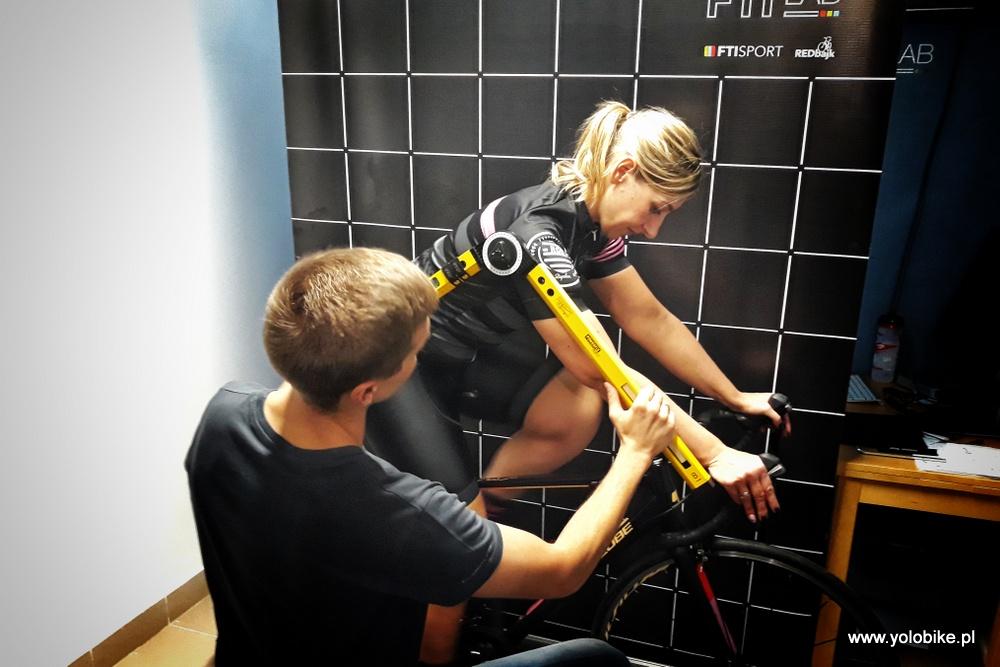 Bike fitting ustawienie pozycji na rowerze