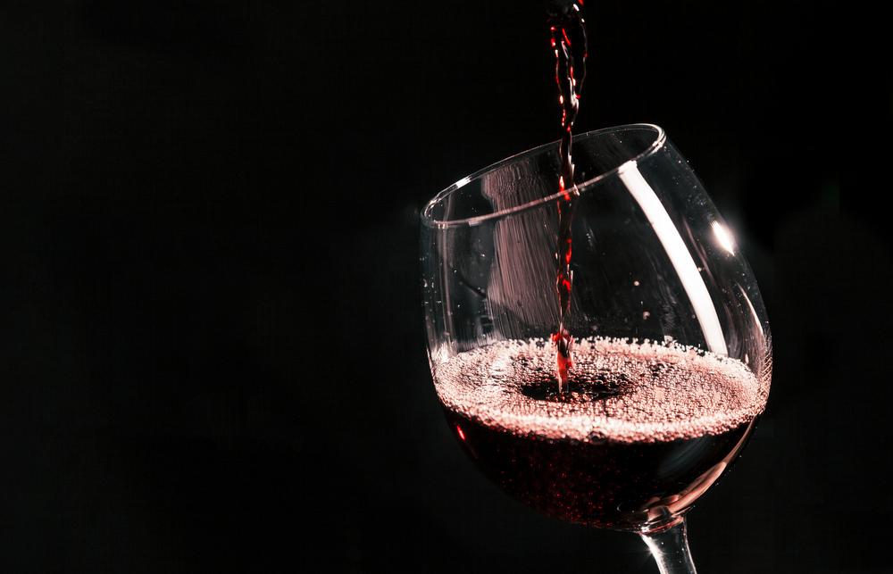 czerwone wino po treningu