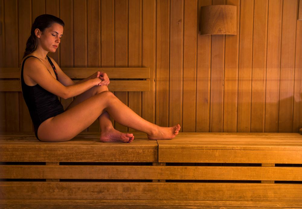 sauna po treningu