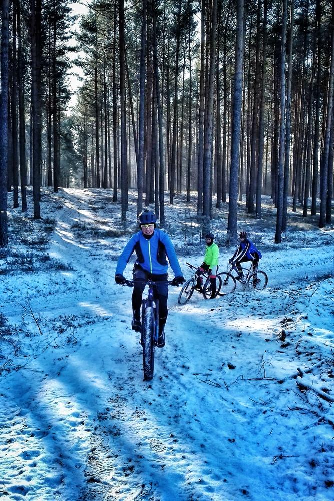 zima na rowerze odnież zimowa