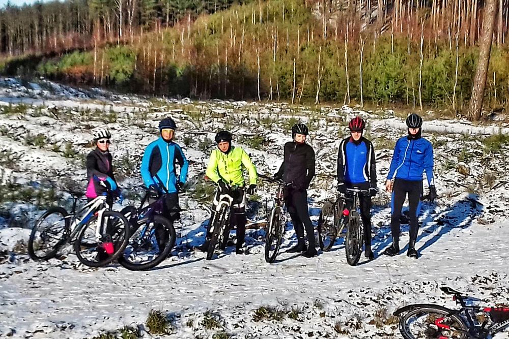 drużyna MTB Zielona Góra